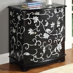 Judson Bombay Chest with Painted Floral Detail
