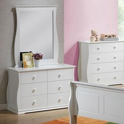 Nebo Youth Dresser and Mirror Combo