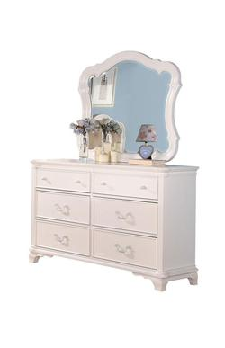 Ira Traditional Youth Dresser and Mirror Combo