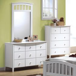 San Marino Youth Dresser & Mirror Combo