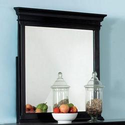Canterbury Black Dresser Mirrror