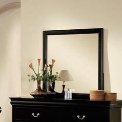 Louis Philippe III Rectangular Dresser Mirror