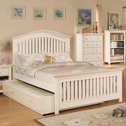 Crowley Traditional Twin Bed with Trundle