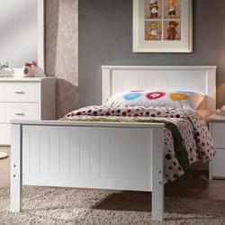 Bungalow Casual Full Panel Bed