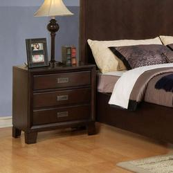 Bellwood Three-Drawer Nightstand