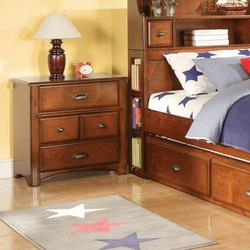 Brandon Traditional Four-Drawer Nightstand
