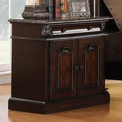 Roman Empire Nightstand with 2 Doors
