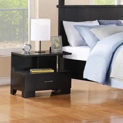 London Contemporary One-Drawer Nightstand