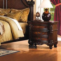 Remington Traditional Three-Drawer Nightstand