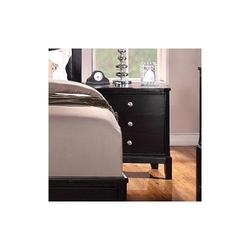 Abram Nightstand with 3 Drawers