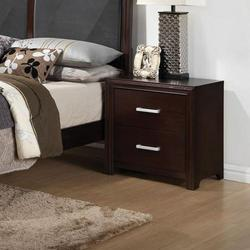 Ajay Nightstand with 2 Drawers