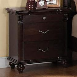 Cleveland 3 Drawer Nightstand with Turned Feet