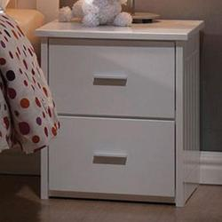 Bungalow Casual Two Drawer Nightstand