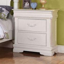 Classique Traditional Nightstand with Hidden Drawer