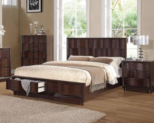 Acme Furniture Travell Queen Low Profile Bed