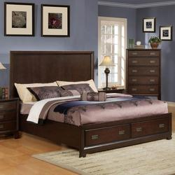 Bellwood King Bed with Footboard Storage