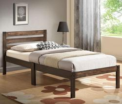 Donato Casual Twin Bed with Slat Heaboard