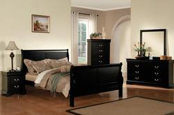 Louis Philippe III Transtional Queen Bedroom Group
