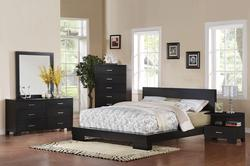 London Platform California King Bedroom Group