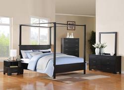 London Canopy California King Bedroom Group