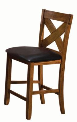 Acme Furniture Apollo X Back Dining Side Chair With Pu Upholstered Seat