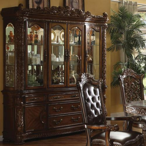 Cleopatra Ornate Traditional Cherry Formal Dining Room: Acme Furniture Vendome Traditional Hutch & Buffet