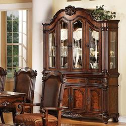 Remington Traditional Display Hutch & Dining Buffet