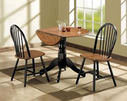 Mason 3-Piece Dining Drop Leaf Table and Chair Set