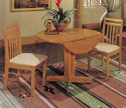 Copenhagen Casual 3 Piece Dining Set with Drop Leaf Table
