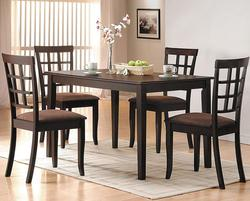 Cardiff 5 Piece Table and Chair Set