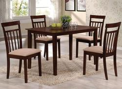 Samuel 5 Piece Casual Dining Set with Upholstered Seats