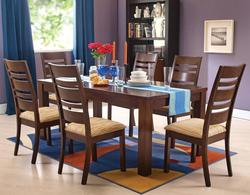 Everest 7 Piece Casual Dining Set with Ladderback Chairs