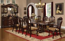 Anondale Traditional 9 Piece Dining Table And Chair Set