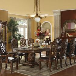 Vendome Traditional Dining Table and Chair Set