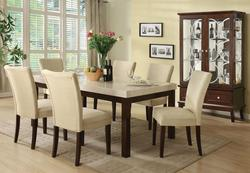 Kyle 7-Piece Contemporary Dining Table and Chair Set
