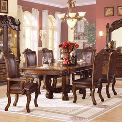 Agate Ornate Dining Table and Chair Set