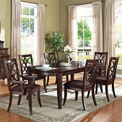 Keenan Transitional 7-Piece Dining Set