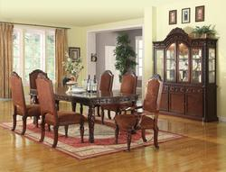 Quimby Traditional Dining Table and Chair Set