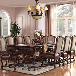 Delphia Traditional Dining Table and Chair Set