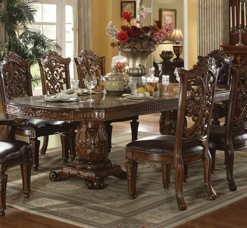 Acme Furniture Vendome Traditional Formal Dining Table