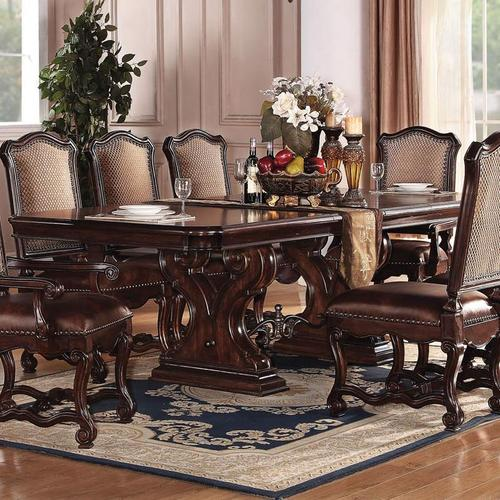 Elegant Dining Room Sets: Acme Furniture Delphia Formal Dining Table