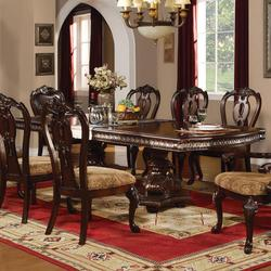 Anondale Traditional Formal Dining Table
