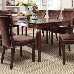 Kingston Formal Transitional Leg Dining Table