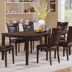 Waller Rectangular Four Leg Dining Table