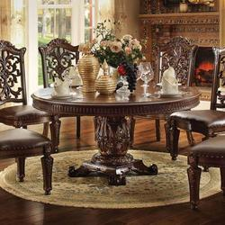 Vendome 72 inch Round Single Pedestal Dining Table