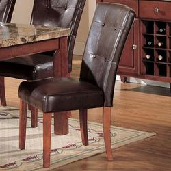 7045 Bycast Side Chair with Upholstered Seat and Back