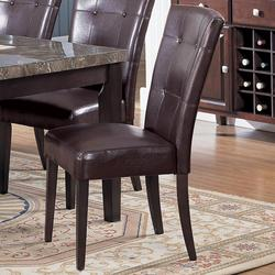 Canville Dining Side Chair with Upholstered Seat and Back