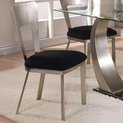 Camille Side Chair w/ Upholstered Seat