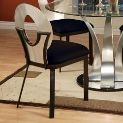 Cady Dining Side Chair w/ Upholstered Seat