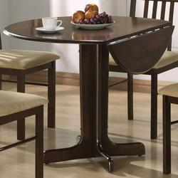 Copenhagen Round Drop Leaf Pedestal Table